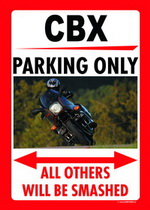 CBX PARKING ONLY