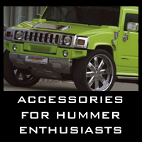 Accessories for HUMMER enthusiasts