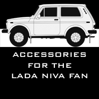 Accessories for Lada Niva owners and fans