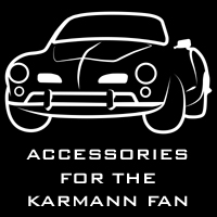 Accessoires for Karmann Ghia owners and fans
