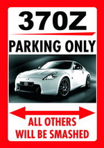 NISSAN 370Z PARKING ONLY
