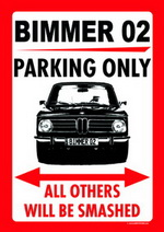 BIMMER 02 PARKING ONLY