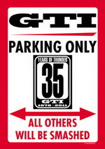 GTI35.com PARKING ONLY