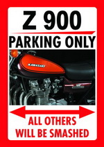 Z 900 PARKING ONLY