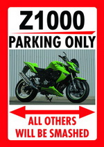 Z1000 PARKING ONLY